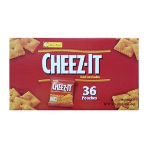 Cheez-It Baked Snack Crackers 1.5 Oz Bags 36 Count