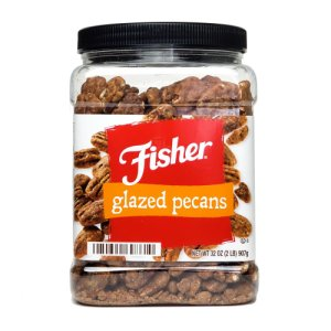 Fisher Sweet Glazed Pecans 2 Lbs