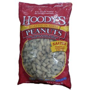 Hoody's Roasted In-Shell Peanuts Salted 5 Lb Bag