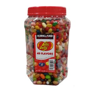 Kirkland Signature Jelly Belly Gourmet Jelly Beans 4 Lbs