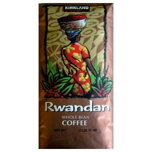 Kirkland Signature Rwandan Dark Roast Whole Bean Coffee 2 lb