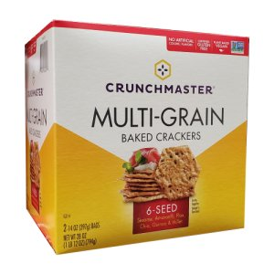 Crunchmaster 6 Seed Multi Grain Crackers 28 oz