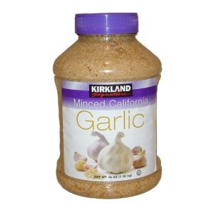 Kirkland Signature Minced California Garlic 48 oz