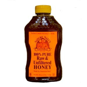 Nature Nates Natural 100% Pure Raw and Unfiltered Honey 2.5 Lbs