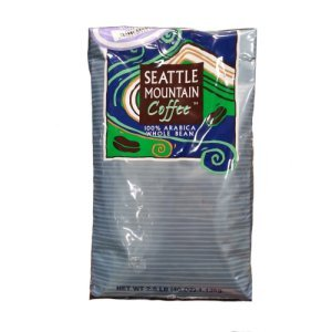 Seattle Mountain Colombian Supremo Coffee Whole Bean 2.5 lb