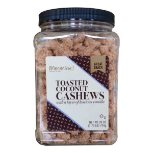 Mmmine Toasted Coconut Cashews 1.75 Lb