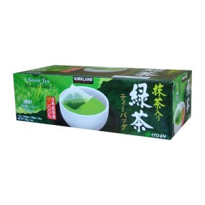 Kirkland Signature Japanese Green Tea Matcha Blend 100 ct
