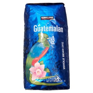 Kirkland Signature Guatemalan Whole Bean Coffee 3 Lbs