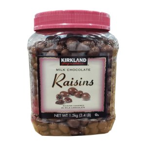 Kirkland Signature Milk Chocolate Raisins 3.38 lb