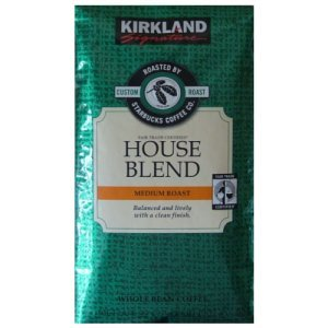 Kirkland Signature House Blend Medium Roast Whole Bean Coffee
