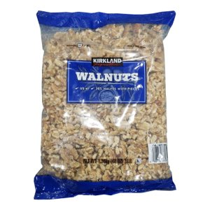Kirkland Signature Fresh Raw Walnuts 3 Pounds Shelled