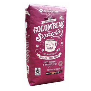 Member's Mark Colombia Supremo Whole Bean Coffee 2.5 lb